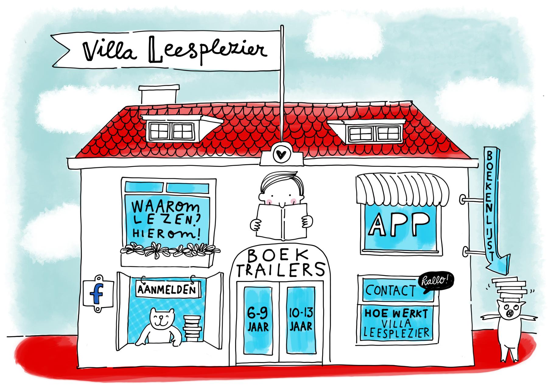 Villa Leesplezier